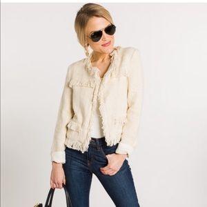 Metallic Tweed Blazer